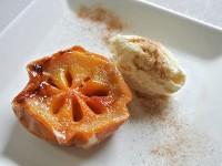 焼き牡蠣ならぬ「焼き柿」がおいしい! 柿を焼くだけの簡単デザート
