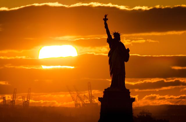 【NY夕陽の絶景】恋人にしか見せない素顔のように