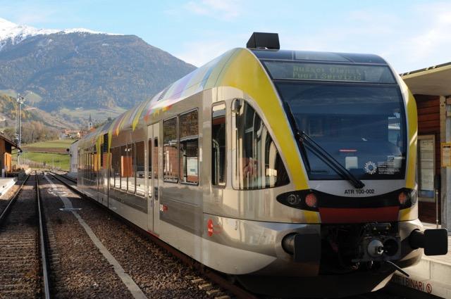 【イタリア・ローカル列車の旅】アルト・アディジェ