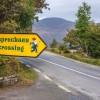 道を歩いているとひょっこりアイツに出会うかも?!アイルランドにある「妖精注意」の看板とは