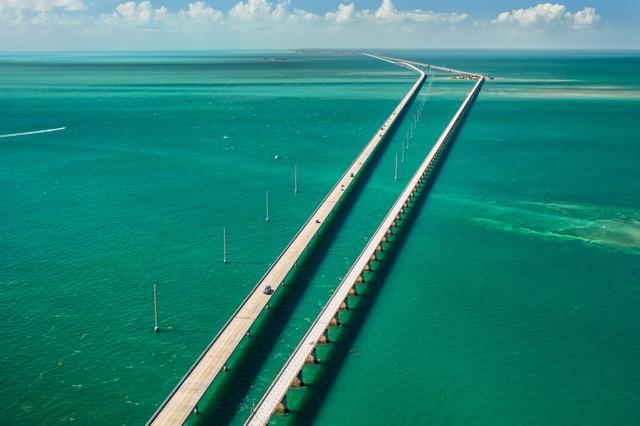 海を越えて楽園の旅へ、アメリカにある「セブンマイル・ブリッジ」