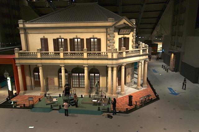 江戸から昭和へ半日の小旅行 東京都江戸東京博物館
