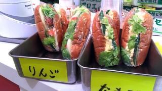 新橋のオアシス!100円で手作りサンドイッチが食べられるジューススタンド