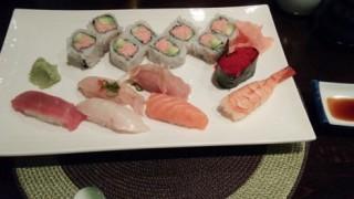 【アメリカ】 おしぼりもだしてくれるおいしいお寿司屋さん
