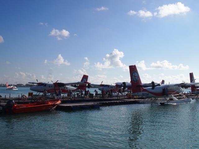 モルディブ水上飛行機