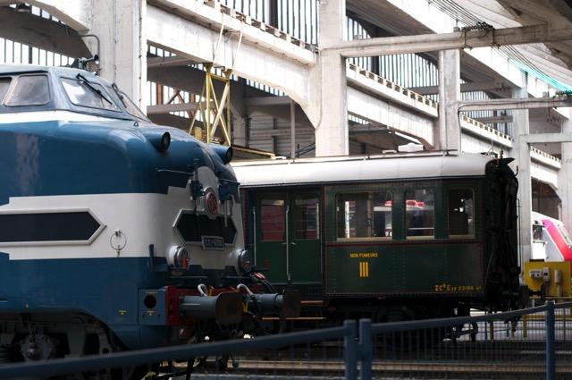 パリの旧車両基地がお洒落なイベント広場に!Grand Trainグラントラン