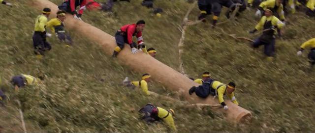 数えで7年に一度の開催!命がけの「御柱祭」の様子がわかる動画が公開