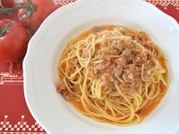 【15分で速攻ディナー】あっさり味の「ツナと生トマトのパスタ」