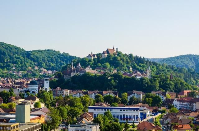 ドラキュラのふるさと、ルーマニアのシギショアラは世界遺産の城塞都市