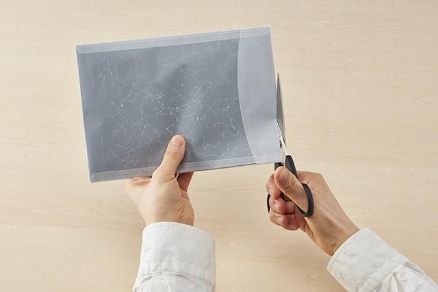 あの人に届けたい。封筒の中に宇宙を閉じ込めた「星空の封筒」