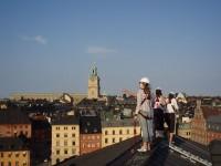 「魔女の宅急便」モデルの街ストックホルムを上から眺める屋根歩きツアー