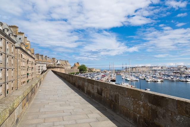 フランスの海賊の街、サン・マロ