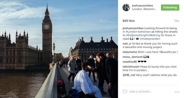ホームレスの人々に無料ヘアカットと笑顔を届けるロンドンの美容師