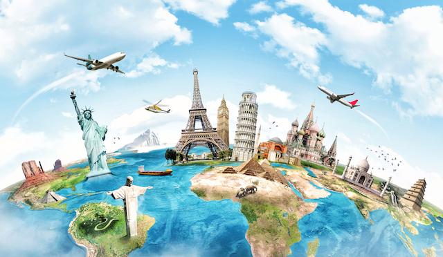 世界一周航空券でこんな旅【2】世界中にある感動の大自然を巡る旅