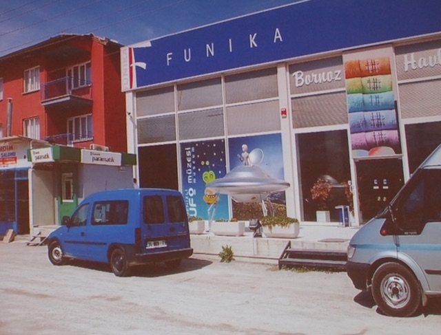トルコの田舎町デニズリのUFO博物館が面白すぎる!