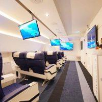 憧れのファーストクラスのサービスとVR旅行を体験できる「FIRST AIRLINES」