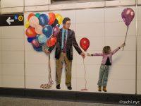 2.75ドルで見られるアート。ニューヨークの地下鉄構内が美術館に。