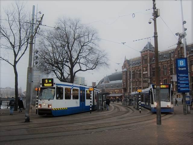 【アムステルダム】旅の前に予習!路面電車(トラム)の乗り方ガイド