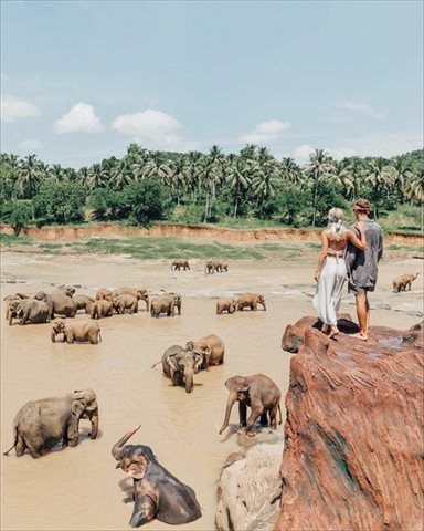 旅人の憧れ!世界を旅してインスタグラム画像で100万円得るカップル