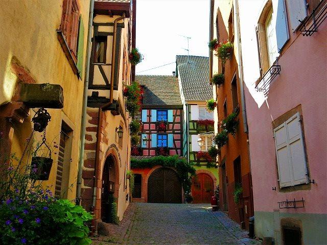 フランスの最も美しい村、「ブドウ畑の真珠」リクヴィルの5つの魅力