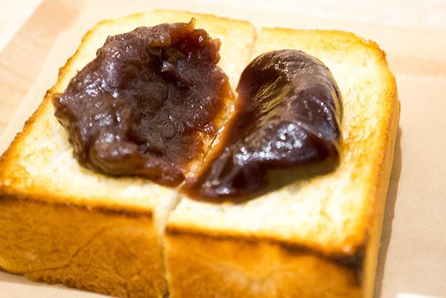 「TORAYA CAFE・AN STAND」のあんトーストが美味しすぎる