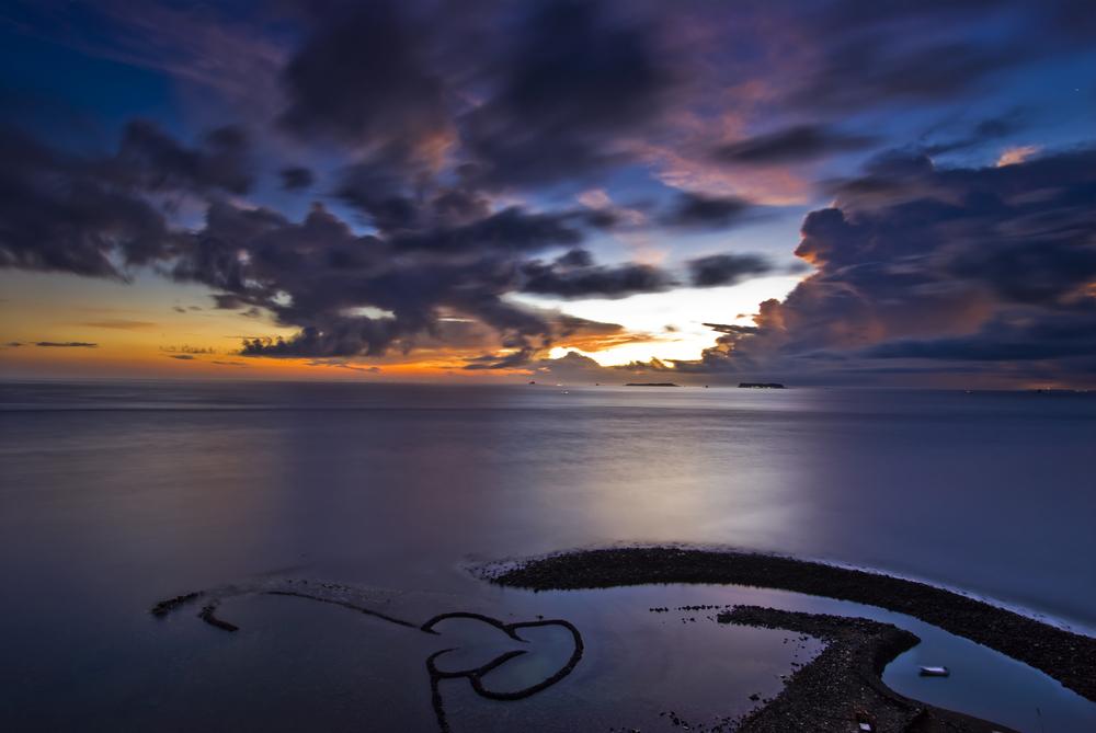 ダブルハートに小台湾!台湾・澎湖の小島「七美」の絶景スポット