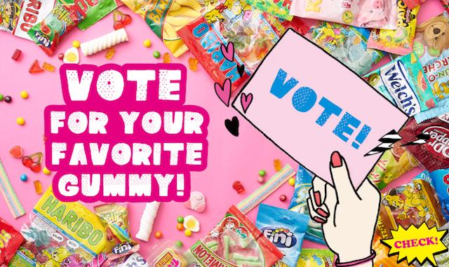 【グミ選挙2017】PLAZAで8種類のグミを試食してお気に入りに投票!