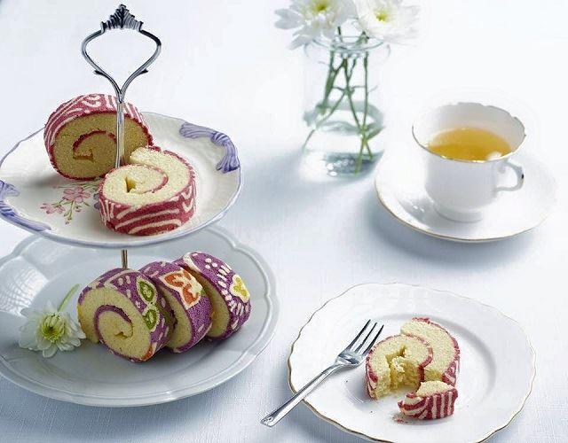 【話題】食べる芸術!アジアン・ビューティーなロールケーキ