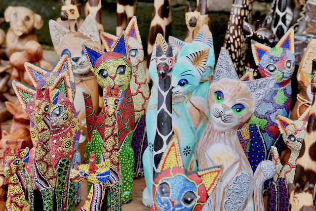 バリ島ウブドの中心地。ウブド市場にはバリ島の生活が詰まっている!