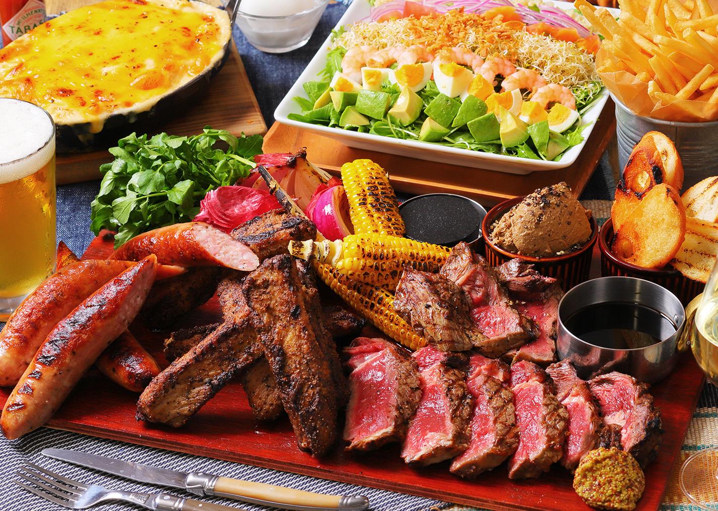 """肉、大渋滞!!ハワイアンカフェ「アロハテーブル」の""""肉&ビアフェス"""""""