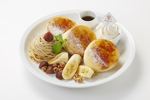 パンケーキ専門店Butterの秋メニュー「恋するレモンティー」が可愛い!