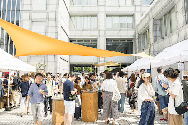 世界のコーヒーと本と花。青山「TOKYO COFFEE FESTIVAL」