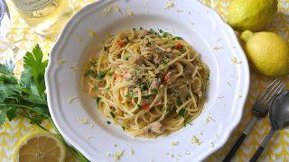 【簡単レシピ】レモンが決め手! ツナ缶を使ったイタリアの絶品パスタ