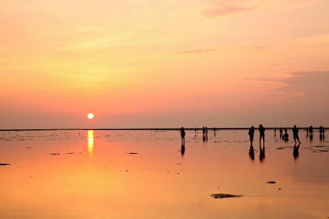 「台湾のウユニ塩湖」、高美湿地できれいな夕日を見るための3つの条件