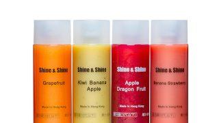 搾りたてのようなおいしいボトルジュースに新作登場!Shine&Shine「キウイ・バナナ・アップル」