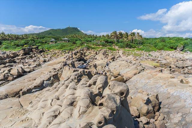 女王の頭にハチの巣、無数の奇岩が連なる台湾のカッパドキア「野柳地質公園」