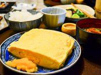 赤坂「やげんぼり」の出汁がたっぷりの絶品出し巻き玉子ランチ