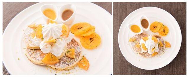 サラベス日本上陸5周年!ルミネ新宿限定『スノーウィ―オレンジパンケーキ』