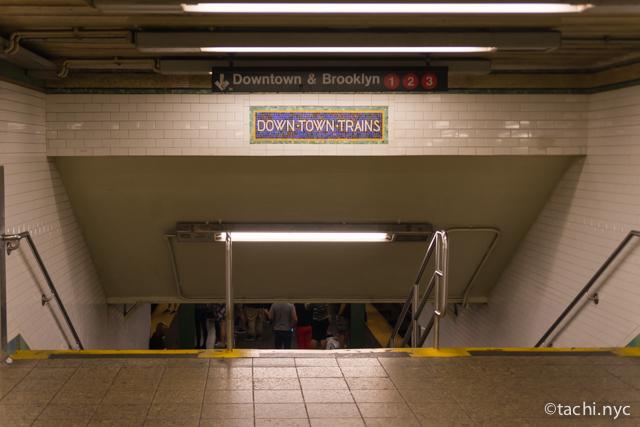 【NYCビギナーでも分かる】地下鉄の乗り方