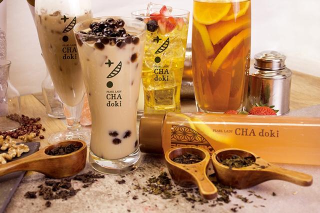 京都をイメージした、お茶とタピオカドリンク専門店「茶時-Kyoto-」が京都にオープン
