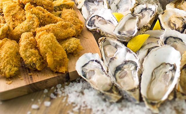 シーズン到来!牡蠣尽くしの食べ放題で、生からフライまで4通りのおいしさで食べ尽くし!