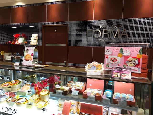 自分へのご褒美にしたい、チーズケーキ専門店の限定クリスマスケーキ【東京駅グランスタ】
