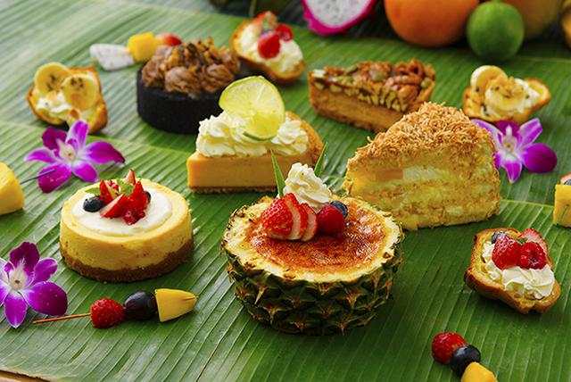 大人気パイナップルのクリームブリュレも!水曜日だけのデザートビュッフェメニューが登場