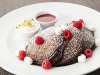 サラベスのバレンタイン限定パンケーキ『チョコレート エクスプロージョン』