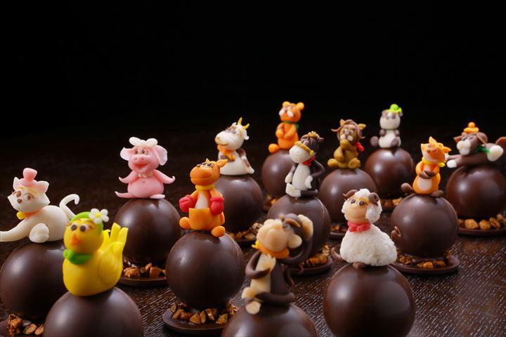 食べていいの!?13種類の動物たちがかわいい「アニマルショコラ」
