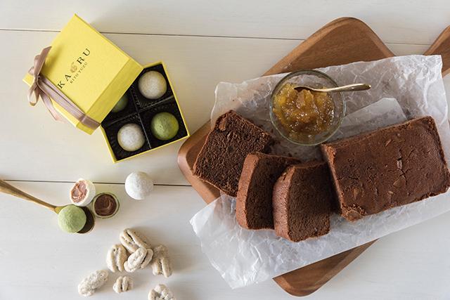 柚子専門店が極める 木頭柚子の味と香りの「プレミアムチョコパウンド」が発売