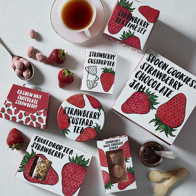 【アフタヌーンティー・ティールーム】苺づくしの新作スイーツを発売!紅茶と苺スイーツを好きなだけ楽しむ「スイーツオーダービュッフェ」も