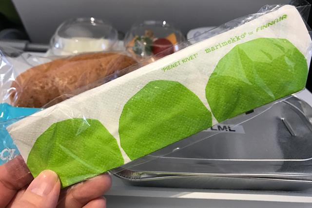 【機内食ルポ】フィンエアー(フィンランド航空)エコノミークラス「成田〜ヘルシンキ」