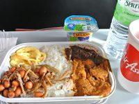 機内食で世界巡り】クアラルンプール〜東京国際空港「エアアジアX航空」