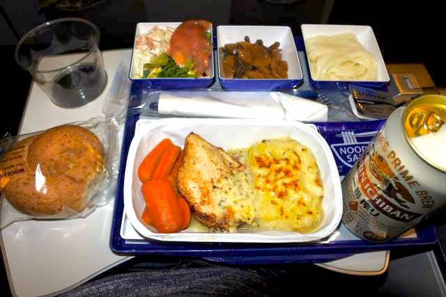 【機内食で世界巡り】ロンドン~東京羽田「ANA」エコノミークラス